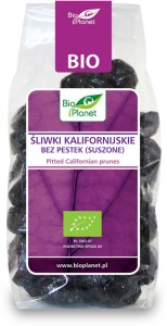 BIO PLANET Śliwki kalifornijskie bez pestek BIO 200g