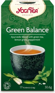 GREEN BALANCE TEA ORGANIC FIX 17 saszetek