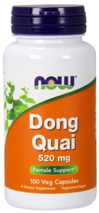 NOW FOODS Dong Quai 520mg, 100caps.