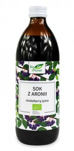 BIO PLANET Sok z Aronii 100% BIO 500ml