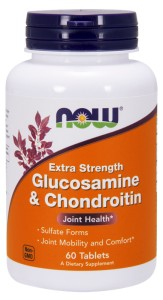 NOW FOODS Glucosamine & Chondroitin - extra strength 60tabl.