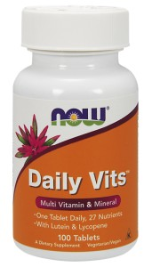 NOW FOODS Daily Vits 100tabl. - Multi Vitamin & Mineral