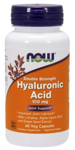 NOW FOODS Hyaluronic Acid 100mg, 60vcaps. - Kwas hialuronowy