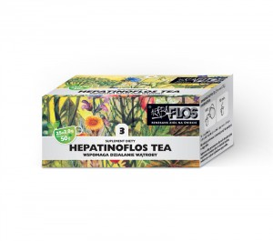Hepatinoflos 3 TEA 25fix - wątrobowa HERBA-FLOS