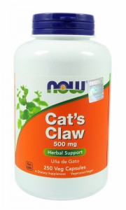 NOW FOODS Cat's Claw 500mg, 250vcaps.