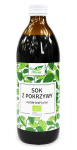 BIO PLANET Sok z Pokrzywy 99,8% BIO 500ml