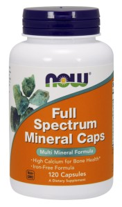 NOW FOODS Full Spectrum Mineral 120caps.