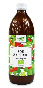 BIO PLANET Sok z Aceroli 100% BIO 500ml