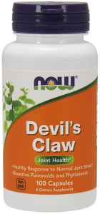 NOW FOODS Devil's Claw 500mg, 100caps. - diabelski szpon