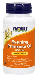NOW FOODS Evening Primrose Oil 500mg, 100sgels. - wiesiołek